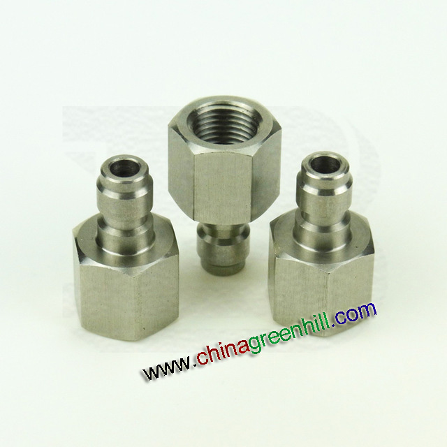 Stainless Steel 1/8 BSP Fill Nipple Coupler