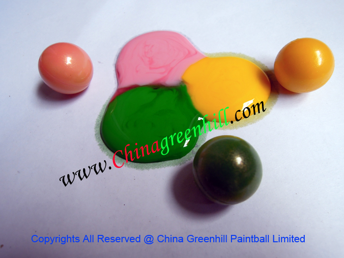 China paintball balls