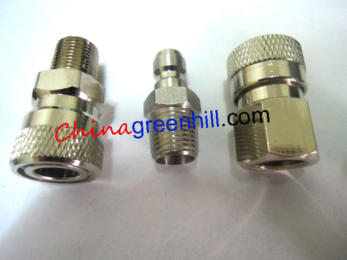 1 8 Npt Bsp Thread Co2 Air High Pressure Connector