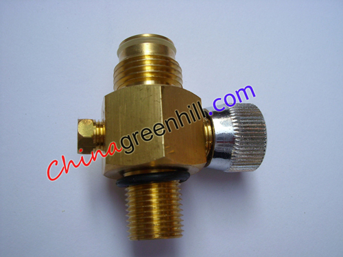 Paintball High Pressure Pin Valve